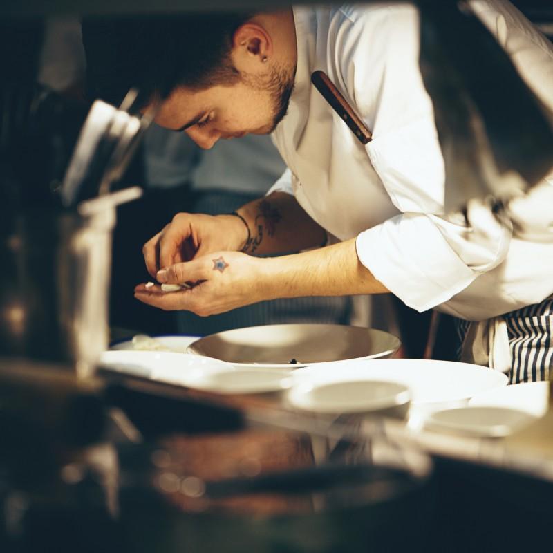 chef's whites laundered